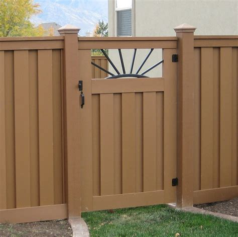 fence gate design images trex gates hardware low maintenance fencing naturally