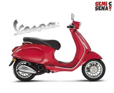 Gambar Motor Vespa Sprint by Harga Vespa Sprint 150 Review Spesifikasi Gambar April