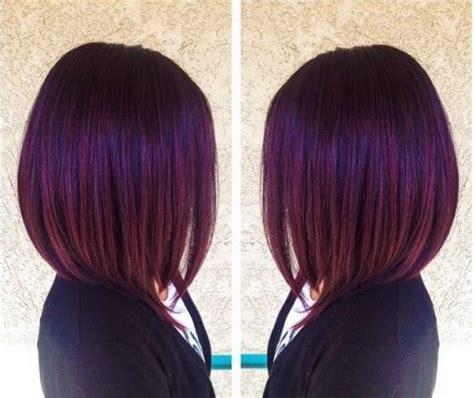 17 meilleures idu00e9es u00e0 propos de Cheveux Violet Foncu00e9 sur Pinterest | Cheveux violets Cheveux ...