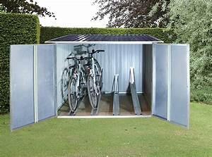 Fahrradgarage Für 4 Fahrräder : fahrradbox und fahrradgarage aus metall infos preise ~ Eleganceandgraceweddings.com Haus und Dekorationen