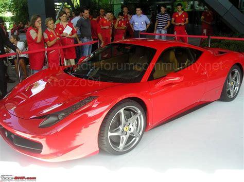 The All New Ferrari 458 Italia Page 4 Team Bhp