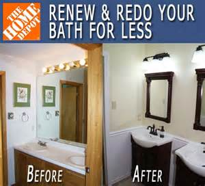 cheap bathroom remodel ideas for small bathrooms renew redo bath makeover before after