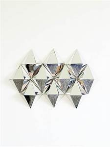 Diy d mirrors diamond wall art monsterscircus