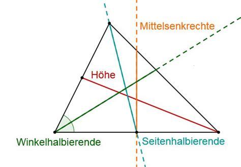 dreieck thema lernen mit serlo