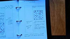 Blunder Prone      Imagination  Inspiration And Improvement  How I Take Chess Notes Using A