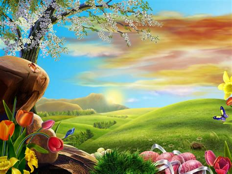 Easter Anime Wallpaper - high definition wallpapers easter wallpapers