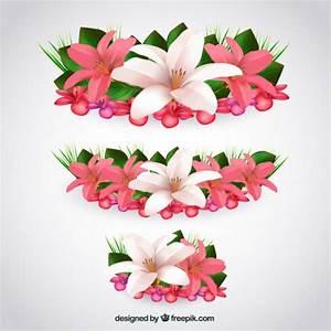 les fleurs tropicales dans le style realiste telecharger With chambre bébé design avec bouquet fleurs tropicales