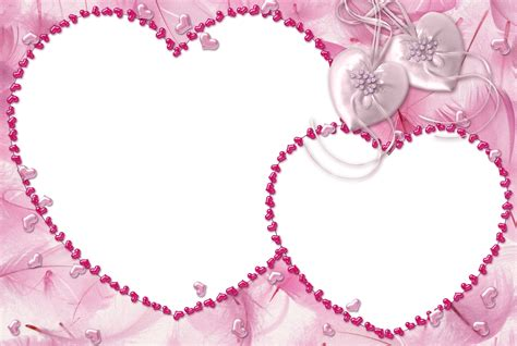 pink heart transparent frame gallery yopriceville high quality