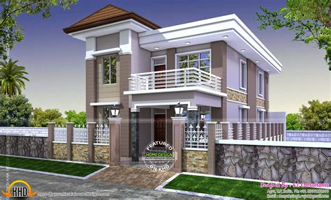 Front Elevation Designs For Single Floor Houses In India