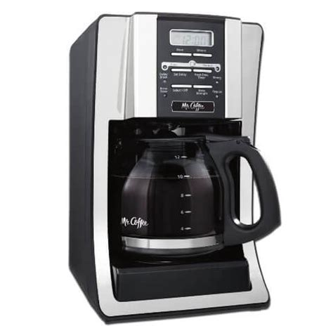 Coffee pump espresso maker can make cappuccinos on the cheap but its design could use work. Mr. Coffee BVMC-SJX33GT 12 Cup Coffee Maker Review