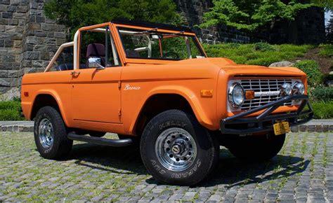 drive  classic ford bronco  manhattan