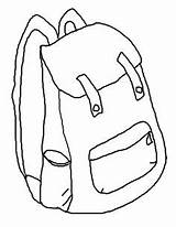 Backpack Coloring Printable Pages Backpacks Clipart Cliparts Library Clip Sheets Printables Popular sketch template