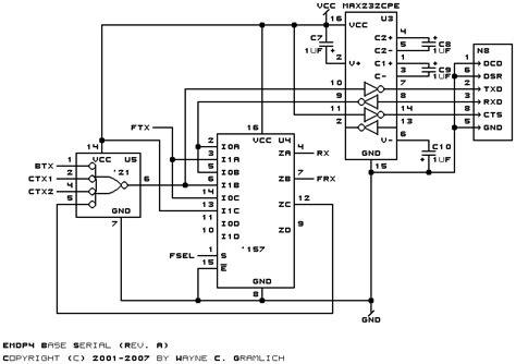Usb Serial Port Circuit Diagram Wiring