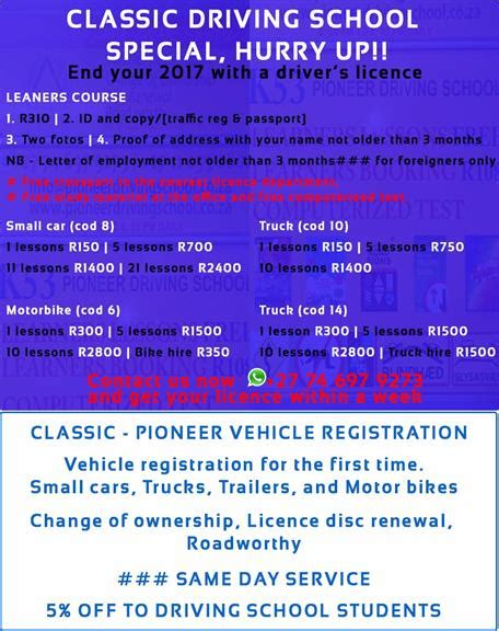 Driving School Review by Pioneer Driving School Randburg Projects Photos