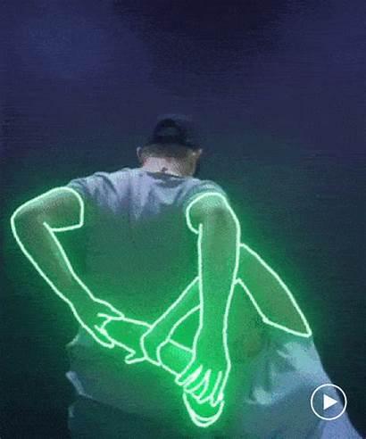 Effects Neon Ofir Shoham Choreography Animation Lines