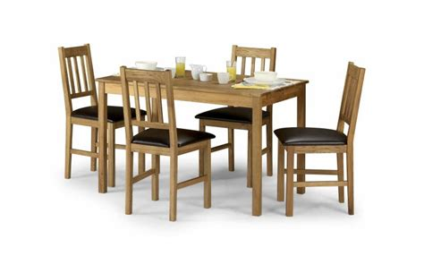 coxmoor white oak table 4 chairs