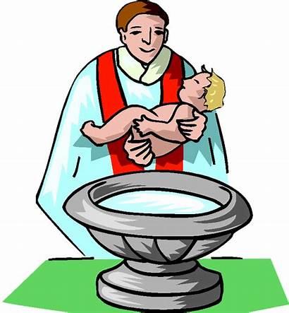 Baptism Jesus Clipart Roman Christ Catholic Christening