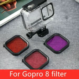 underwater waterproof film camera filter lens