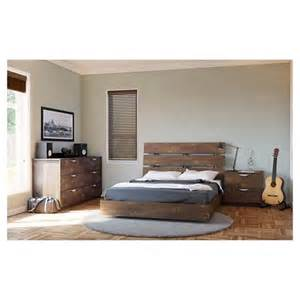 Target Bedroom Sets by Nexera Nocce Size Bedroom Set Truffle Target