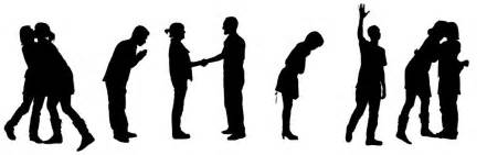 copenhagen institute of interaction design map of greeting gestures