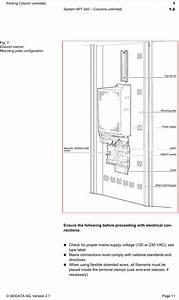 Skidata As450sa00 Parking Column Using Rfid User Manual
