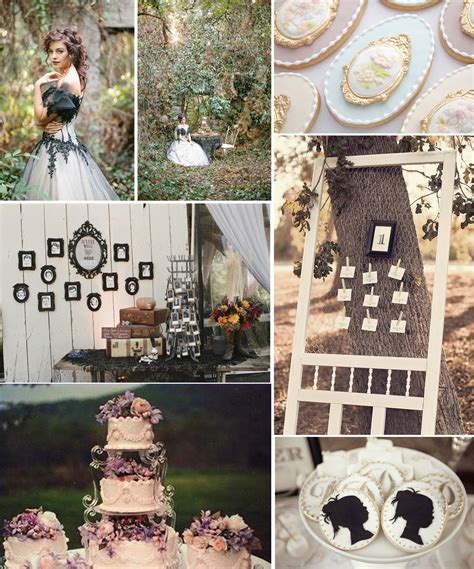 wedding inspiration victorian vintage wedding theme