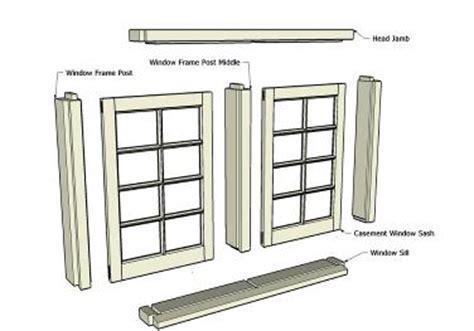 making casement windows  woodworking