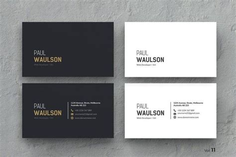 professional black out business card template 17 simple business card templates publisher psd ai