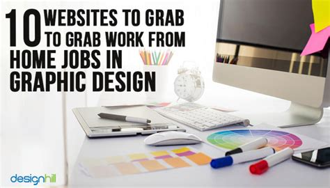 10 Websites To Grab Work From Home Jobs In Graphic Design