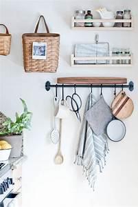 Idée De Rangement : le rangement mural comment organiser bien la cuisine ~ Preciouscoupons.com Idées de Décoration