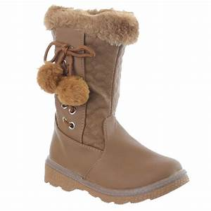 Pom Pom Schuhe : kids girls children infants warm winter pom pom fashion snow boots shoes size ebay ~ Frokenaadalensverden.com Haus und Dekorationen