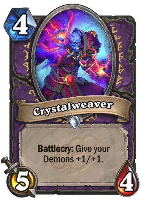 crystalweaver hearthstone card