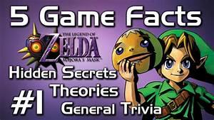 "5 Game Facts in Majora's Mask ""Hidden Secrets / Name ..."