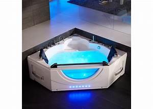 Prix Baignoire Balneo : baignoire d 39 angle baln o 2 places baignoire d 39 angle de ~ Edinachiropracticcenter.com Idées de Décoration