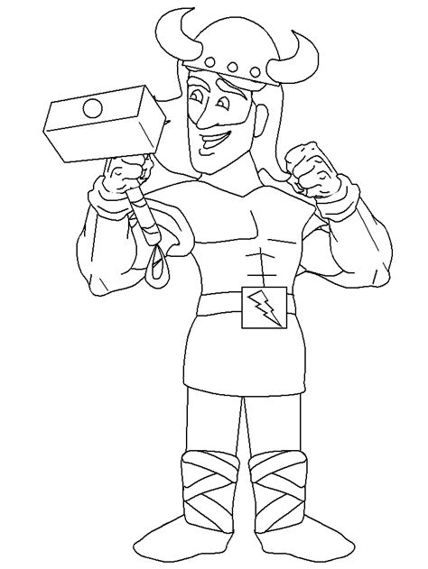 norway thor countries coloring pages coloring page book