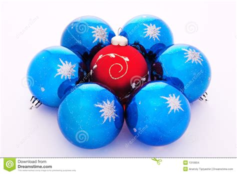 Christmas-tree Decorations Balls Stock Images