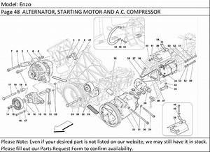 Buy Ferrari Part   172537 Accessory Drive Belt Tensioner