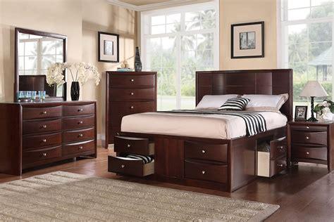 queen size charleston   bed drawers modern platform bed