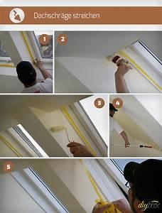 Kalkfarbe Streichen Anleitung : dachschr ge streichen anleitung tipps ~ Lizthompson.info Haus und Dekorationen