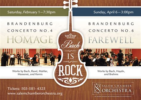 Interesting Salem Chamber Orchestra Bach Is Rock Homage