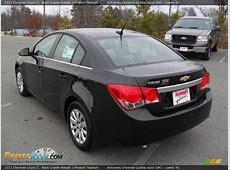 2011 Chevrolet Cruze LT Black Granite Metallic Medium