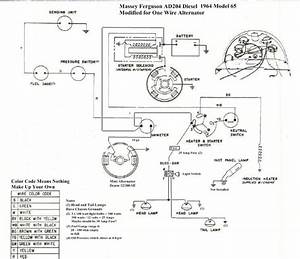 1964 Massey 65 Perkins Diesel Wiring And Other Questions