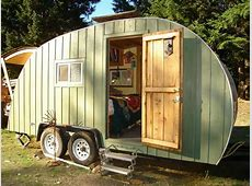 My ChemicalFree House NonToxic Teardrop Trailer