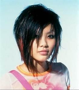 Coupe Cheveux Asymétrique : coupe de cheveux d structur e ~ Melissatoandfro.com Idées de Décoration