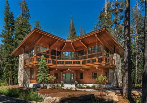 Log Cabin Style Meets Ethnic Modern Interior Design by The Overland Trail Cabin By Bcv Architecture Interiors