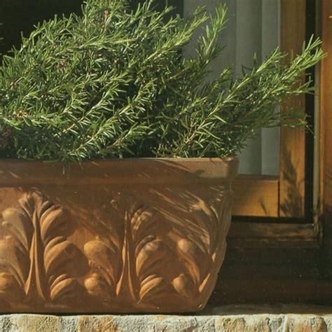 rectangle windowbox terracotta garden planter