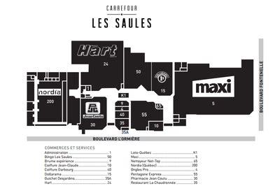 Carrefour Les Saules in Ville de Québec, Quebec - 17 Stores, Hours, Location   Shopping Canada