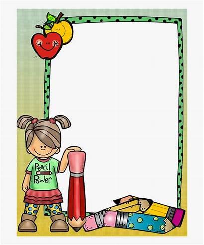 Border Clipart Teacher Frames Borders Paper Cartoon