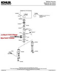 kohler kitchen faucet parts diagram kohler faucet repair faucets reviews