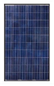 canadian solar 270 watt solar panel black frame cs6p 270p